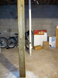 typical storage basement